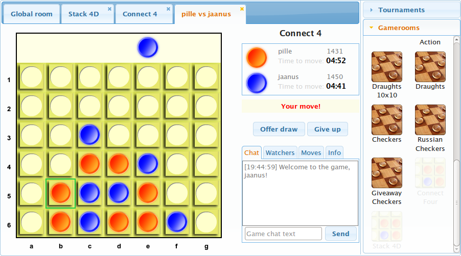 connect-four-game